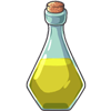 This potion shortens the length of a pregnancy by 10 days. May only be used once on a female pet.