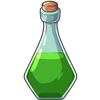 This potion shortens the length of a pregnancy by 200 days. May only be used once on a female pet.