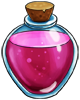 Magenta growth potion